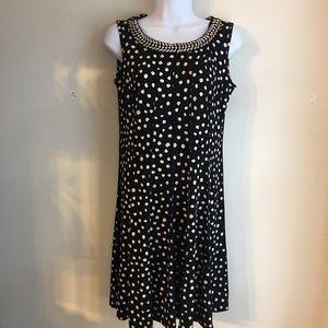 Enfocus Polka Dot Dress